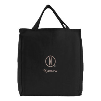Namaw's Embroidered Tote Bag