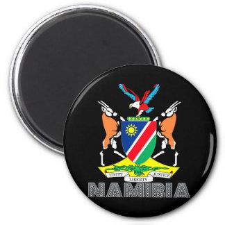 Nambian Emblem 6 Cm Round Magnet