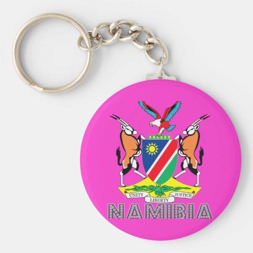 Nambian Emblem Keychain