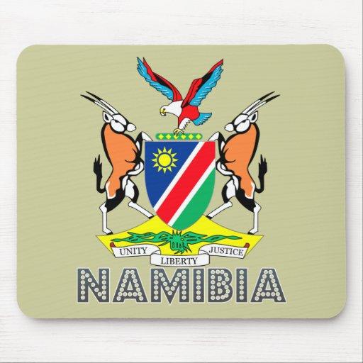 Nambian Emblem Mouse Pad