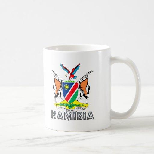 Nambian Emblem Coffee Mugs
