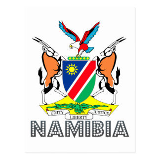 Nambian Emblem Postcard