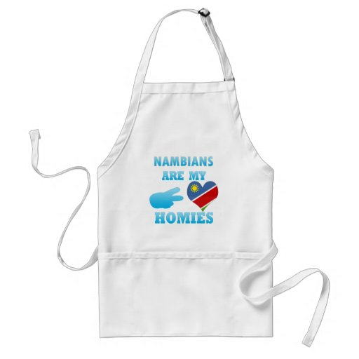 Nambians are my Homies Apron