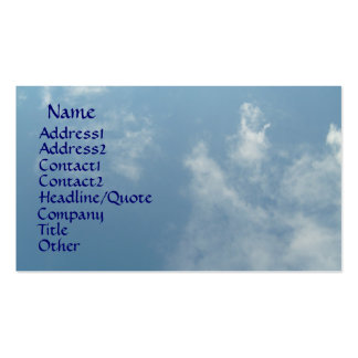 Name, Address1, Address2, Contact1, Contac... Business Cards