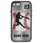 NAME and NUMBER iPhone 6 Baseball Cases Tough Tough Xtreme iPhone 6 Case