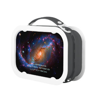 Name, Barred Spiral Galaxy NGC 1672 Lunch Boxes