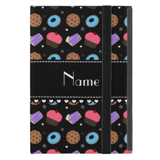Name black cupcake donuts cake cookies iPad mini cover