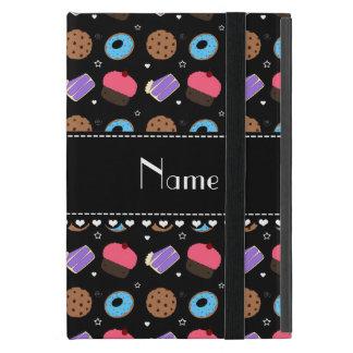 Name black cupcake donuts cake cookies iPad mini covers