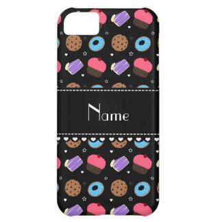 Name black cupcake donuts cake cookies iPhone 5C case