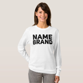 Women 39 s brand name t shirts for Branded t shirts names