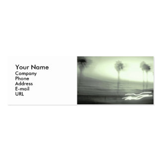 Name card: Palm Tree Pack Of Skinny Business Cards