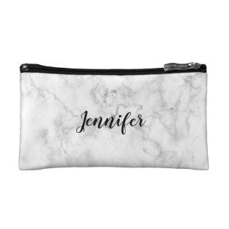 NAME Cosmetic Bag | MARBLE Minimalist + Modern