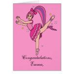 Name Customisable Recital Congratulations! Greeting Card