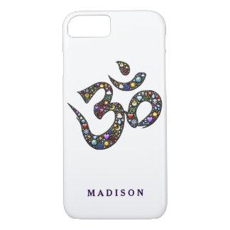Name cute ohm emoji om symbol emojis hipster yoga iPhone 8/7 case