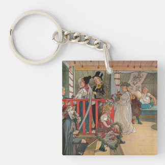 Name Day at the Storage House Square Acrylic Keychains