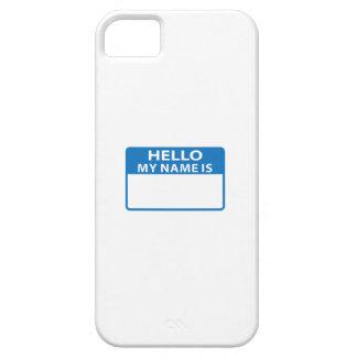NAME DROP NAME TAG iPhone 5 COVERS