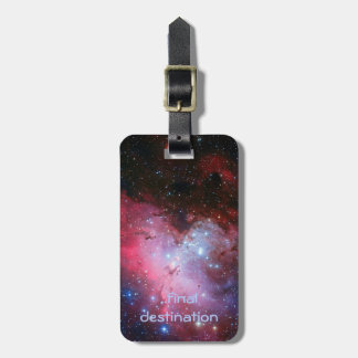 Name, Eagle Nebula outer space picture Tag For Luggage