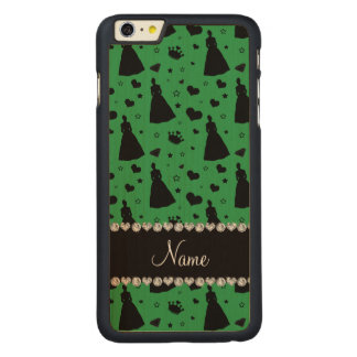 Name green princess hearts stars crown iPhone 6 plus case