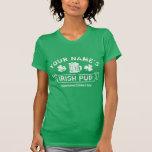 [Name] Irish Pub Vintage T-Shirt