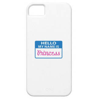NAME IS PRINCESS iPhone 5 CASE