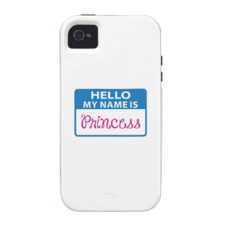 NAME IS PRINCESS iPhone 4 COVERS