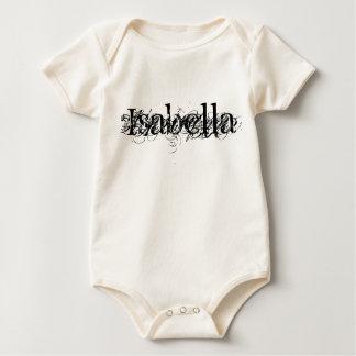 Name Isabella Customized Bodysuit