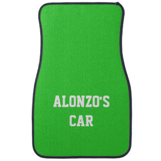 Name Lime Green Best Complementary Color Floor Mat