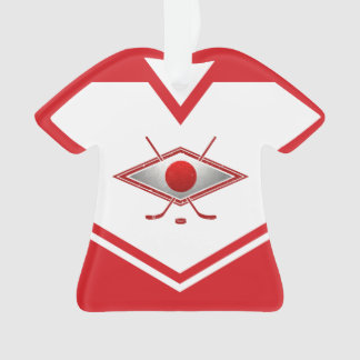 Name & Number Jersey Japan Logo Ornament