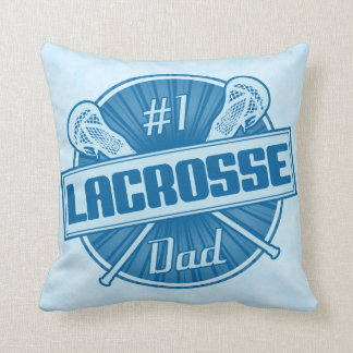 Name & Number Lacrosse Dad Pillow Customize