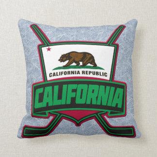 Name & Number Pillow, California Hockey Logo Cushion