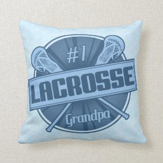 Name & Number Pillow, Lacrosse Grandpa Cushion