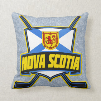 Name & Number Pillow, Nova Scotia Hockey Logo Cushion