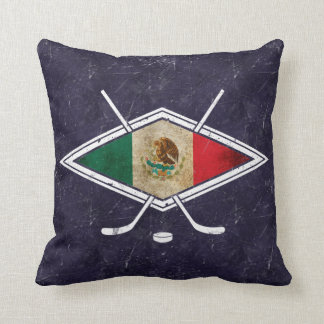 Name & Number Print, Mexican Hockey Pillow