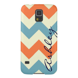 Name orange blue chevron zigzag zig zag pattern id galaxy s5 case