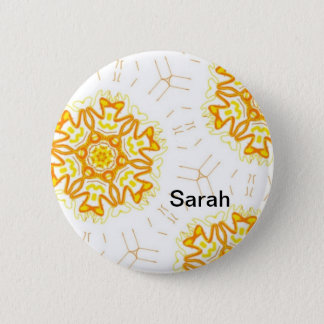 Name plate button multicolored abstractly name