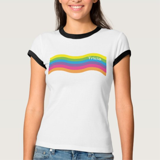 Name Ranibow Wave T-Shirt
