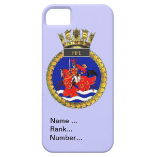 Name, rank, Number, HMS Fife Barely There iPhone 5 Case