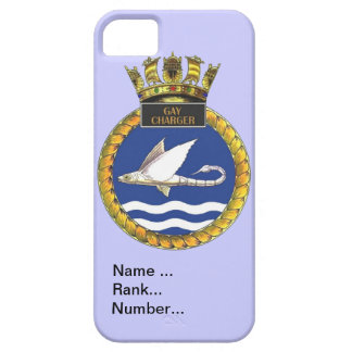 Name, rank, Number, HMS Gay Charger iPhone 5 Cover