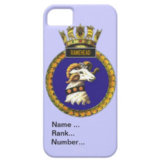 Name, rank, Number, HMS Ramehead Barely There iPhone 5 Case