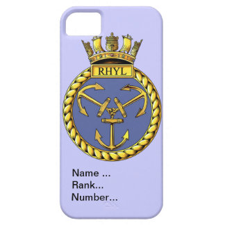 Name, rank, Number, HMS Rhyl Barely There iPhone 5 Case