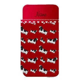 Name red english cocker spaniel dog incipio watson™ iPhone 5 wallet case