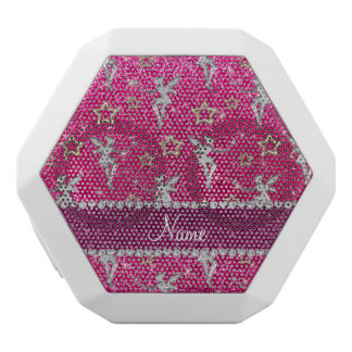 name silver fairy gold stars neon hot pink glitter