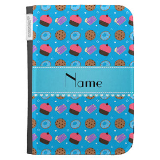 Name sky blue cupcake donuts cake cookies cases for the kindle