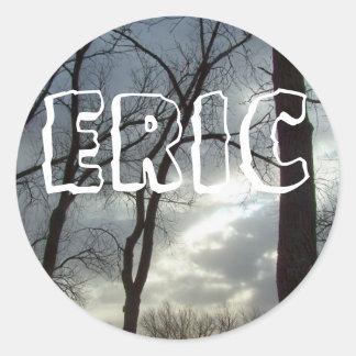 name sticker : ERIC