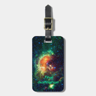 Name, Tadpole Nebula, Auriga Constellation Luggage Tag