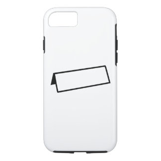 Name tag iPhone 7 case