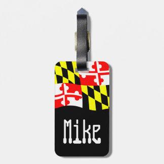 Name Tag-Maryland Travel Bag Tag