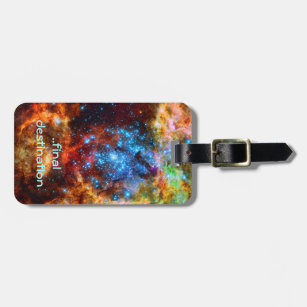 Luggage Tags Eagle Nebula Star Travel Accessories Baggage Name Tags