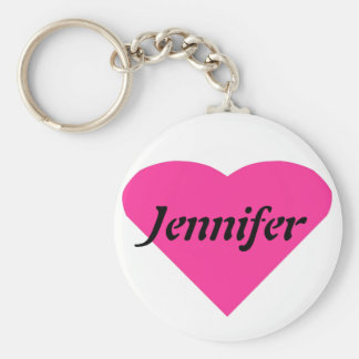 Name Template Basic Round Button Key Ring