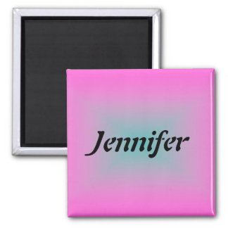 Name Template Square Magnet